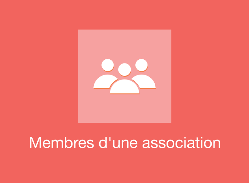 Partenariats : Membres d'une association